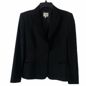 ARMANI COLLEZIONI Black Tweed Jacket Sz 10
